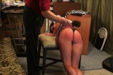 Coed Bailey Spanked OTK for Disobedience 2